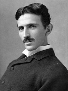 The man himself, Nikola Tesla